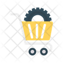 Cart Trolley Setting Icon