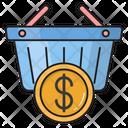 Cart Trolley Dollar Icon