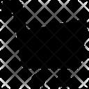 Black Friday Cart E Commerce Icon