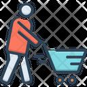 Cart Consumable Customer Icon