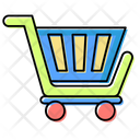 Shopping Tracking Easy Handles Icon