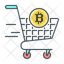 Bitcoin Cryptocurrency Pay Icon