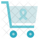 Charity Donation Cart Icon
