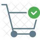 Cart Trolley Done Icon