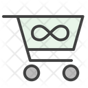 Cart Endless Basket Icon