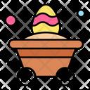 Cart Trolley Egg Icon