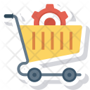 Cart Gear Options Icon