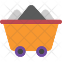 Cart Coal Energy Icon