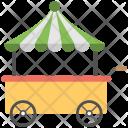 Cart Icon Flower Icon
