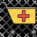 Medical Shopping Kart Icon