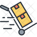 Cart Delivery Logistic Icon