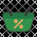 Cart Bag Black Friday Commerce Icon