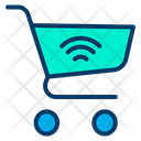 Smart Cart Smart Shopping Basket Automation Icon