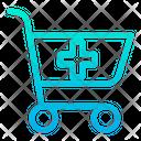 Cart Medical Pharmacy Icon