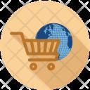 Cart International World Icon