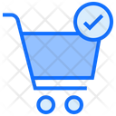 Cart Check Trolley Cart Icon