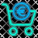 Cart Euro Icon