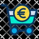 Banking Cart Euro Icon