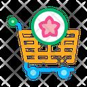 Flower Shop Cart Icon