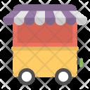 Food Cart Kiosk Icon