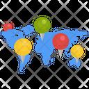 Cartogram Icon