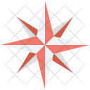 Cartography Compass Rose Icon