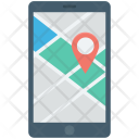 Cartography City Map Icon