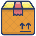 Carton Parcel Package Icon