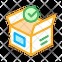 Opened Carton Box Icon