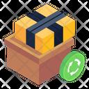 Carton Box Reuse Icon
