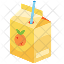 Carton Of Orange Juice Icon