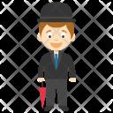 Boy Charlie Chaplin Icon