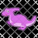 Cartoon Dinosaur Icon