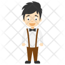 Butler Waiter Steward Icon