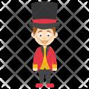 Magician Boy Funny Icon