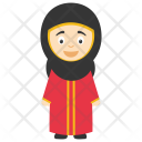 Muslim Girl Hijab Icon