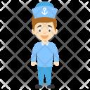 Sailor Seaman Navy Icon