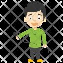Cartoon Singer Boy Icon