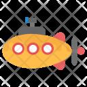 Cartoon Submarine Icon