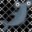 Cartoon Whale Icon