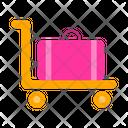 Carts Trolley Luggage Trolley Icon