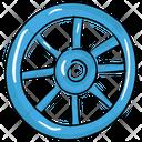 Cartwheel Wagon Wheel Vintage Wheel Icon