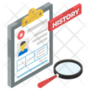 Case History Case Study Diagnosis Icon
