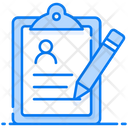 Case History Medical History Patient File Icon