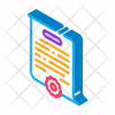 Case Parsing Notary Icon