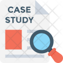 Case Study Magnifier Icon