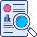 Case Magnifying Research Icon