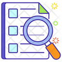 Survey Case Study Questionnaire Icon