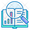 Case Study Book Graph Icon