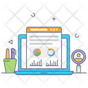 Data Analysis Business Analytics Case Study Icon